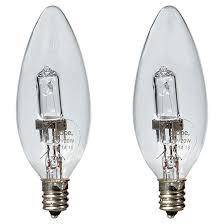 20w halogen b10 light bulb 120v 2 pack rona