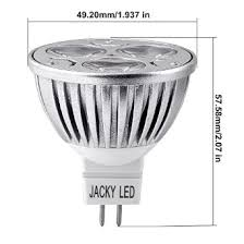 buy 1x mr16 4w 40w dimmable day white 12v led bulb jackyled
