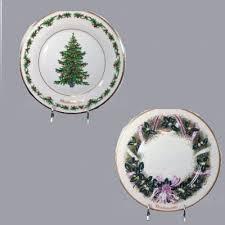 Set Of 2 Lenox Annual Christmas Plates