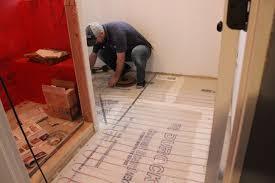 Home Depot Floor Leveler by Master Bathroom Ready For Tile 12 Oaks