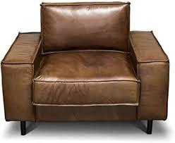 casa padrino luxus echtleder lounge sessel vintage leder