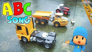 Dump Truck Cranes Songs For Kids | Car Videos For Kids | Kids World ...