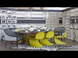 Gray And Yellow Dining Rooms Design