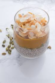 Pumpkin Mousse And Ginger Parfait by Toasted Coconut U0026 Pumpkin Chia Pudding U2014 Wellness By Kristen