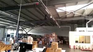 Hvls Ceiling Fans Residential by Profan Hvls Fans In Warehouse Distribution Center Www Alsanfan Com