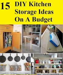 kitchen diy kitchen storage ideas diy kitchen storage ideas for