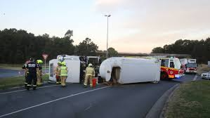 Garbage Truck Overturned At Kembla Grange | Illawarra Mercury A View Of An Overturned Truck On Highway In Accident Stock Traffic Moving Again After Overturned 18wheeler Dumps Trash On Truck Outside Of Belvedere Shuts Down Sthbound Rt 141 Us 171 Minor Injuries Blocks 285 Lanes Wsbtv At Millport New Caan Advtiser Drawing Machine Photo Image Road Brutal Winds Overturn Trucks York Bridge Abc13com Dump Blocks All Northbound Lanes I95 In Rear Wheels Skidded Royalty Free