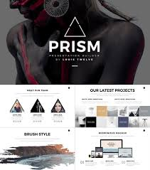 Prism Creative 2016 PowerPoint Template Design