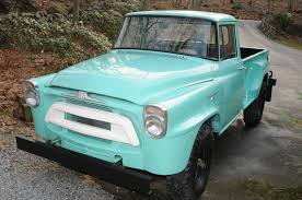 1957 International Harvester 4X-A120 Step Side Pick Up ...