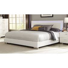 Coaster Felicity Queen Low Profile Bed with LED Backlight Value