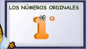 Números Ordinales Claves De Escritura Noticias Digital58