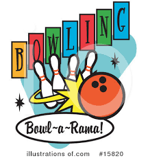 Bowling Clipart Illustration by Andy Nortnik