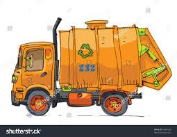 Garbage Truck Stock Vector HD (Royalty Free) 94983799 - Shutterstock