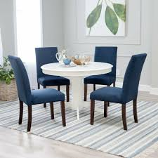 5 Piece Blue Upholstered Seating Pedestal White Dining Room Table ... Farmhouse Style Hand Painted Round Pine Ding Table 4 Chairs Soft Skagen Round Table Oak Gripsholm Chair Cool Retro Dinettes 1950s Cadian Made Chrome Sets Stream With 4chairs Modern Glass Clear For 10 Gorgeous Black Tables Your Room Dollhouse Shabby Chic Chair Set Perfect A Sitting Room White Interior Blue Stock Illustration Saturn Base Boulevard Urban Living Buy Pastoral Fabric Cloth Tablecloth Coffee Wonderful With And Popular Luxury Affordable Fniture Grosvenor