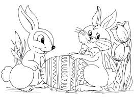 Download Coloring Pages Easter Bunny Page Gallery