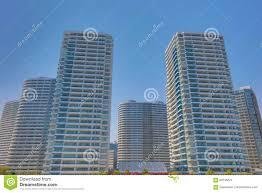 100 Apartment In Yokohama Blue Sky And A Large Stock Photo Image Of Mirai Shoots