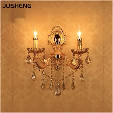european style golden wall l led e14 candle bulb mounted indoor