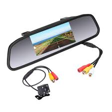 100 Backup Camera For Truck Rearview Mirror For CarVehicle HD