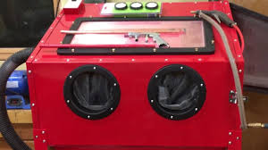 harbor freight blast cabinet assembly upgrades and lessons