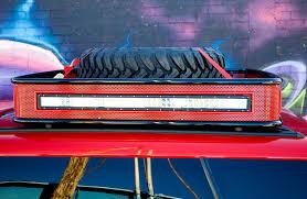 42 Truck Light Bar Rack, Truck Rack With Lights Low Pro All Aluminum ...