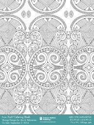 Vintage Designs Colouring Book Free Sample Page