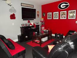 Black And Red Living Room Ideas by Endearing Images Of Man Cave Bedroom For Your Inspiration Ideas