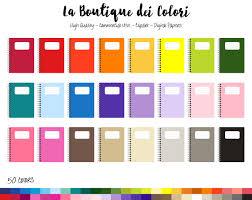 50 Notebook Paper Clipart Digital illustrations PNG Notepad Clip