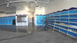 Seal Krete Floor Tex Home Depot by Level Flow Application Youtube
