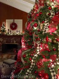 Christmas Tree Amazon Local by Christmas Home Tour Red And Black Holiday Decor The V Spot