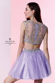 short formal dresses evening dresses by alyce paris u003cbr u003e4435 u003cbr u003etwo