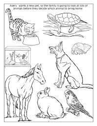 Dog And Cat Coloring Book Pages