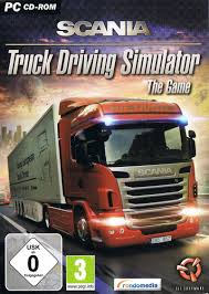 Scania Truck Driving Simulator: The Game (2013) Macintosh Box Cover ...