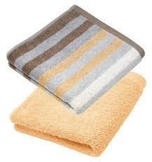 lashuma handtuch set set 4 tlg 4er gästetuch set handtücher 30x50 cm unifarben und mit streifen kaufen otto