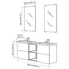 enhet tvällen badezimmer set 15 tlg weiß anthrazit pilkån mischbatterie 164x43x65 cm