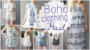 Summer Clothing Haul Boho Tumblr Style