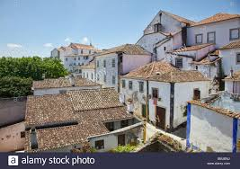 100 Rustic Villas With Clay Tile Roofs Of Old World Europe Stock Photo