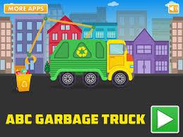 100 Garbage Truck Kids ABC An Alphabet Fun Game For Preschool Kids Learning