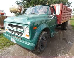 100 Chevy Truck 1970 Chevrolet C50 Grain Truck Item B5847 SOLD October