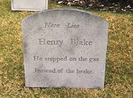 Tombstone Sayings For Halloween by I Told You I Was Ill U0027 The Funniest Messages Carved Into