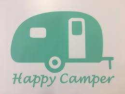 100 Truck Decals For Girls Happy Camper Decal Round Here
