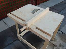 Making A Utility Table Saw