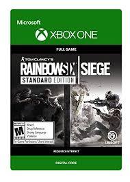 siege xbox one tom clancy s rainbow six siege customary version xbox one