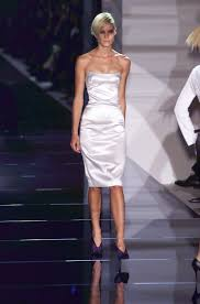 s s 2001 brand new tom ford for gucci strapless corset dress 40