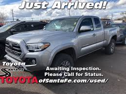 100 Santa Fe Truck Certified PreOwned 2018 Toyota Tacoma SR5 In JX160653R
