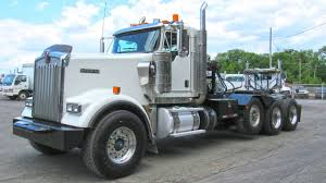 100 Tri Axle Heavy Haul Trucks For Sale Used 2013 Kenworth W900 Winch Truck At Coopersburg Kenworth