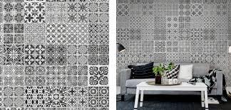 papier peint imitation carrelage cuisine imitation carrelage ciment trendy vinyle carreaux de ciment leroy