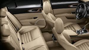 Alfa Romeo Giulia 2016 dimensions boot space and interior