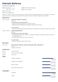 Computer Technician Resume Sample & Writing Guide [+20 Examples] Technical Skills Examples In Resume New Image Example A Sample For An Entrylevel Mechanical Engineer Electrical Writing Tips Project Manager Descripruction Good Communication Mechanic Complete Guide 20 Midlevel Software Monstercom Professional Skills Examples For Resume Ugyudkaptbandco Format Fresh Graduates Onepage List Of Eeering Best