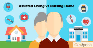 Assisted Living versus Nursing Home CareSprout