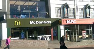 siege mcdonald kfc and mcdonalds employ bouncers after yob siege birmingham live